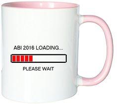 Mister Merchandise Kaffeetasse Becher Abi 2016 Loading Abitur Abiturient, Farbe: Weiß-Rosa - http://geschirrkaufen.online/mister-merchandise/weiss-rosa-mister-merchandise-kaffeetasse-abi