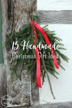 Handmade Christmas Gift Ideas Handmade Christmas Gifts Christmas Ornaments To