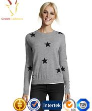 Lady Star Design Intarsia Cashmere Sweater Best Seller follow this link http://shopingayo.space