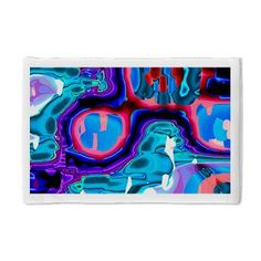 Pillow Case  abstract,colorful,Desert Cave in Heat,energetic,exciting,generated    $23.99