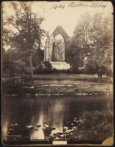 Bolton Abbey by Francis Frith. England, 150-1870 l Victoria and Albert Museum #halloween #photography