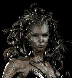 "Greek mythology Medusa ""guardian, protectress"" was a Gorgon, a chthonic monster…"