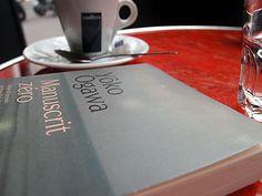 Manuscrit zéro de Yoko Ogawa... au café