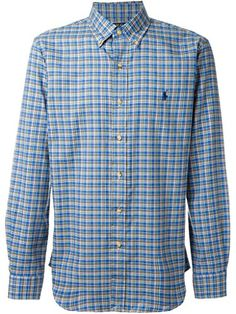 6b4013f09d16 This brushed cotton twill shirt is cut for a relaxed fit