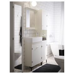 SILVERÅN High cabinet with 2 doors - IKEA