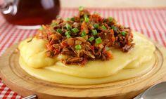 Receita de Polenta cremosa italiana - Gratinado - Dificuldade: Fácil - Calorias: 584 por porção
