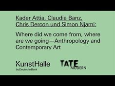 Where did we come from, where are we going — Anthropology and Contempora...