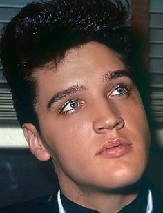 "Those eyes,That Beautiful hair,Those lips and That hard,hard floor, I'm fixing to faint on !!!cf. Better call 911 because, thats what ELVIS will do to 80% of us! Especially with this certain picture, He's gorgeous in it!!!cf. ❤TCB⚡⭐!!!cf. ""RIP"",I wil see U again!"