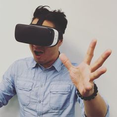 An awesome Virtual Reality pic! This is Eric our 3D designer testing out the full virtual reality of the Chivas Taste Discovery experience with Samsung Gear VR. Drop by the Chivas Regal Mix It Bar at Melbourne Departures International Airport to give them a go!! #melbounreairport #airportexperience #dutyfree #chivasregal #chivas #samsung #samsungvr #virtualreality #goggles #virtualexperience #pimsters #innovation #experiences #experiential #events #marketingandevents #pimgroup…