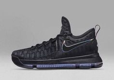 Latest and Cheapest Nike KD 9 Black Blue Air Max Sneakers, All Black Sneakers, Sneakers Nike, Kd Shoes, Me Too Shoes, Black Friday Shoes, Nike Factory Outlet, Nike Outlet, Kd 9