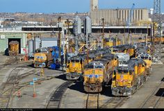 RailPictures.Net Photo: UPY 546 Union Pacific EMD GP15-1 at Denver, Colorado by BUFFIE