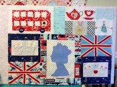 Nanette's Fantastic quilt inspired by England