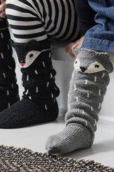 Neulotut Kettu-sukat Novita Venla | Novita knits