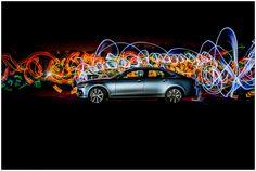 Volvo S90 Light Graffiti - fot. Arek Uriasz