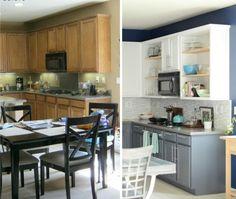 die alte Küche modernisieren und welche Küchenfronten abnehmen