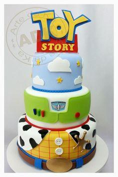 bolo falso toy story - Pesquisa Google