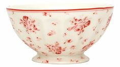 "Greengate French bowl ""Claire"" white small 10cm"