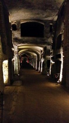Catacombe di San Gennaro #sangennaro #catacombe #napoli
