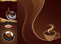 Aromatic Coffee Themed Vector Backgrounds - http://www.welovesolo.com/aromatic-coffee-themed-vector-backgrounds/
