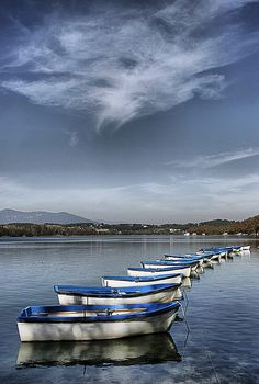 Estany de Banyoles - Girona - Catalonia. Welcome to Catalonia. Polos BATECH®'s Country!