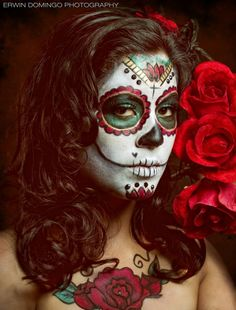 Dia-de-Los-Muertos-Make-up-Art-1