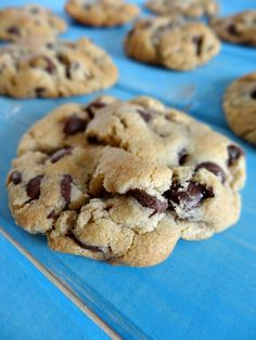 Old Fashioned Gluten-Free Chocolate Chip Cookies 4