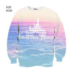 Dream Castle Crew-neck Sweatshirt — Kollage