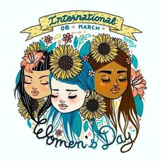 Happy Women's Day--Women are the most wonderful gift that God gave to the world. Learn about the history of International Women's Day 142707881916712605 Women's Day 8 March, 8th Of March, 8 Mars, Happy International Women's Day, International Womens Day Quotes, Happy Woman Day, Wonder Woman, Illustrations, Ladies Day