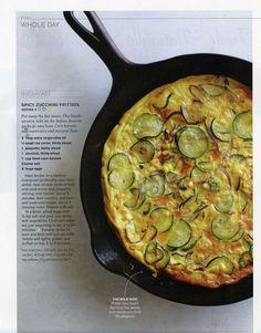 Spicy Zucchini Fritatta~made this recipe and it's yummo