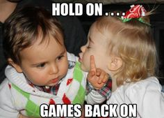 Hold On ... Game's Back On