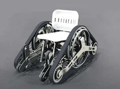 Adventurous Wheelchairs - The Zenith Wheelchair by Josefina Chaves-Posse (GALLERY)