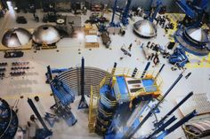NASA is welding together the interstage assembly which will connect the Orion Exploration Flight Test 1 spacecraft to its Delta IV Heavy launch vehicle. Photo Credit: Mark Usciak