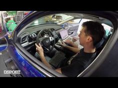 Boosting to the Limits of the Civic's TD03 Turbo | 2017 Honda Civic Test n Tune - YouTube