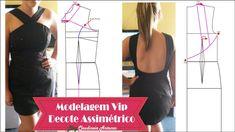 Vídeo aula modelagem Vestido   Exclusivo para membros Vip veja como fazer sua assinatura http://claudineiaantunes.com.br/2015/05/12/venha-ser-vip-site-com-conteudo/