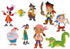 Jake and the Never Land Pirates is an Annie Award-winning musical and interactive animated television series shown on Disney Junior. Description from imgarcade.com. I searched for this on bing.com/images