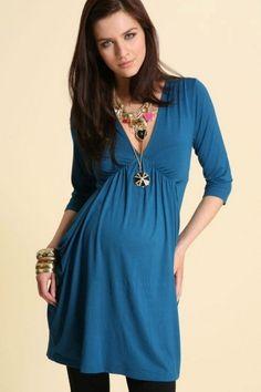 Estar a la moda con Vestidos de maternidad