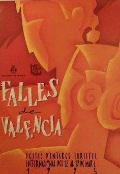 1995 Fallas Festival Advertisement  Original by OutofCopenhagen