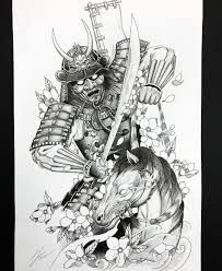 Horse Tattoo Design, Tattoo Designs, Japanese Tattoo Samurai, Horses, Tattoos, Instagram, Art, Oriental Tattoo, Tattoo Horse