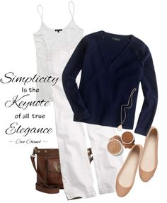 """""""Navy cashmere sweater"""" by rittenremedy ❤ liked on Polyvore"""