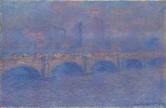 Claude Monet, Waterloo Bridge, Sunlight Effect, 1903