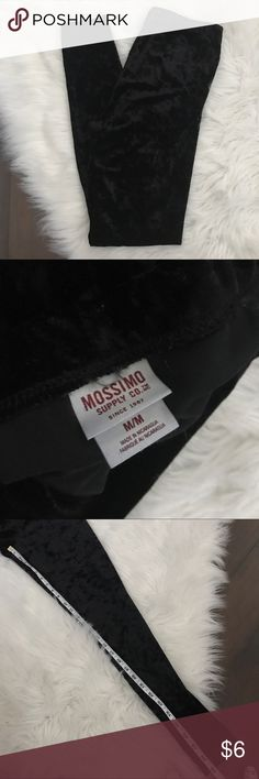 Crushed Velvet Leggings Cute pair of crushed velvet leggings by Mossimo in a size medium! Great condition and so comfy! Mossimo Supply Co. Pants Leggings