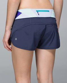 Run:Speed Short *cadet blue/su 14 quilt 28*