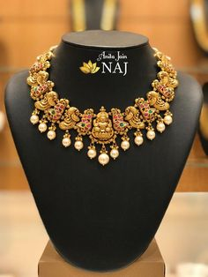 Brillant Gold Antique Collections From Naj Jewellery jewellery jewelry jewelry jewelry jewelry jewelry jewelry jewelry Antique Jewellery Designs, Gold Earrings Designs, Gold Jewellery Design, Necklace Designs, Antique Jewelry, Gold Designs, Necklace Ideas, Jewelry Ideas, Gold Temple Jewellery