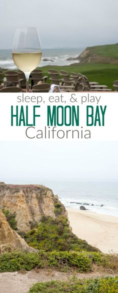 Your comprehensive guide to where to stay, eat, and play in Half Moon Bay, California! Read all about my favorite food, hiking, and hotel, the Ritz Carlton!
