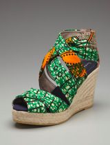 Most favorite Print Wedge ever - Design by Bettye Muller