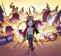 What if Michael Bay directed Gravity Falls by markmak on deviantART