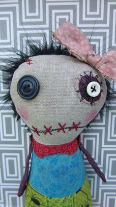 Penny -Handmade Art Doll