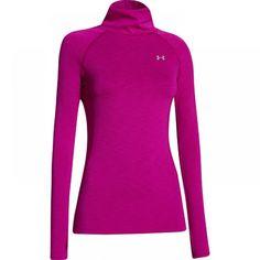 Dámské sportovní fialové triko s dlouhým rukávem Under Armour