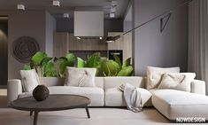 Light Grey Walls Living Room 40 Grey Living Rooms that Help Your Lounge Look Effortlessly Living Room Without Rug, Grey Walls Living Room, Living Room Green, Cozy Living Rooms, Living Room Sofa, Home Living Room, Interior Design Living Room, Living Room Designs, Living Room Decor