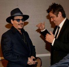 Johnny Depp and Benicio Deltoro